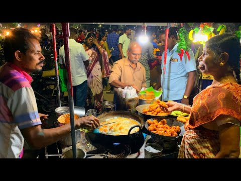MADURAI STREET FOOD, India | Tamil Nadu's delicious SOUTH INDIAN food | Banana leaf + street food