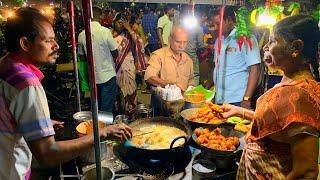 MADURAI STREET FOOD, India | Tamil Nadu's delicious SOUTH INDIAN food | Banana leaf + street food