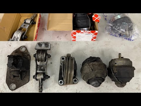 How To Replace ALL 5 Engine Mounts Euro 3 2.4 D5  – DIY Volvo V70 S60 XC90 S80 P2 Vacuum Front Rear