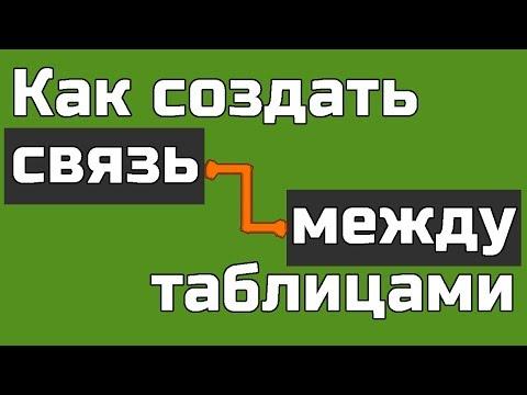 Как связать таблицы в Phpmyadmin Как связать таблицы Mysql