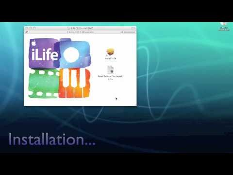 Apple iLife 11 Unboxing, Install & iMovie 11 Demo