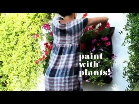 Easy Vertical Gardening with Woolly Pockets