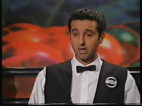 Dave Harold and Shokat Ali Interview BBC snooker 1998 - with David Vine