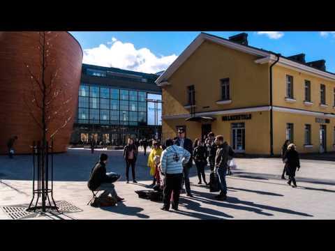 Helsinki street art timelapse
