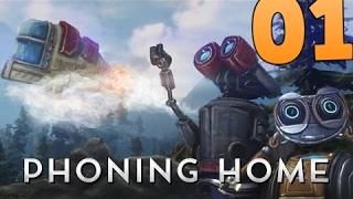 Phoning home #1 Субнотика 2.0??? Брутално интересна нова игра