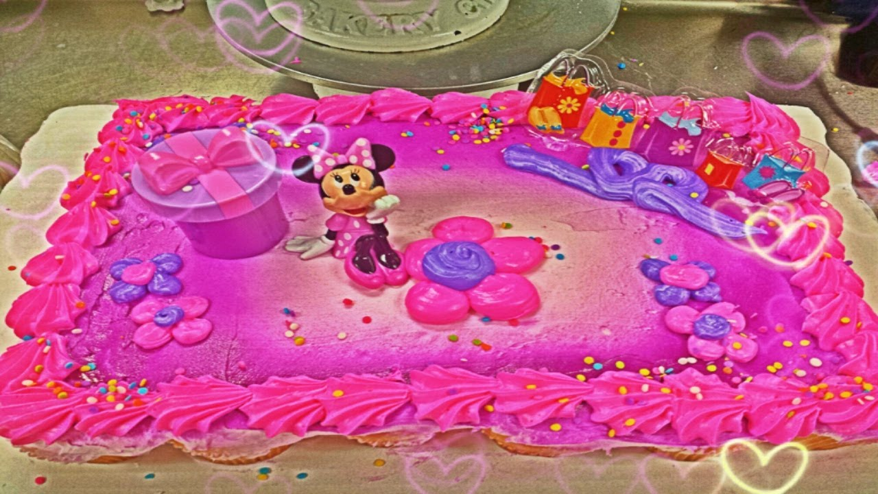 Minnie Mouse CupcakeCake Decopac  YouTube