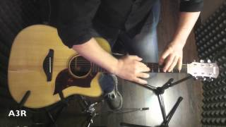 yamaha acoustic guitars a3r srt studio response technology