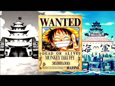 One Piece Wanted - The Evolution Of Straw Hats' Bounties 1997 to 2017 (ワンピース 懸賞金)