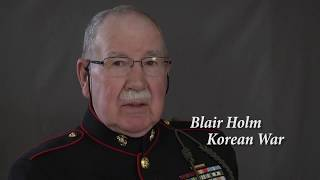 Korean War Veteran Blair Holm Full Interview (Rancho Remembers 2016)