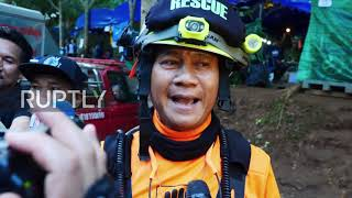 Thailand: Rescue teams gear up to extract 12 trapped boys from cave