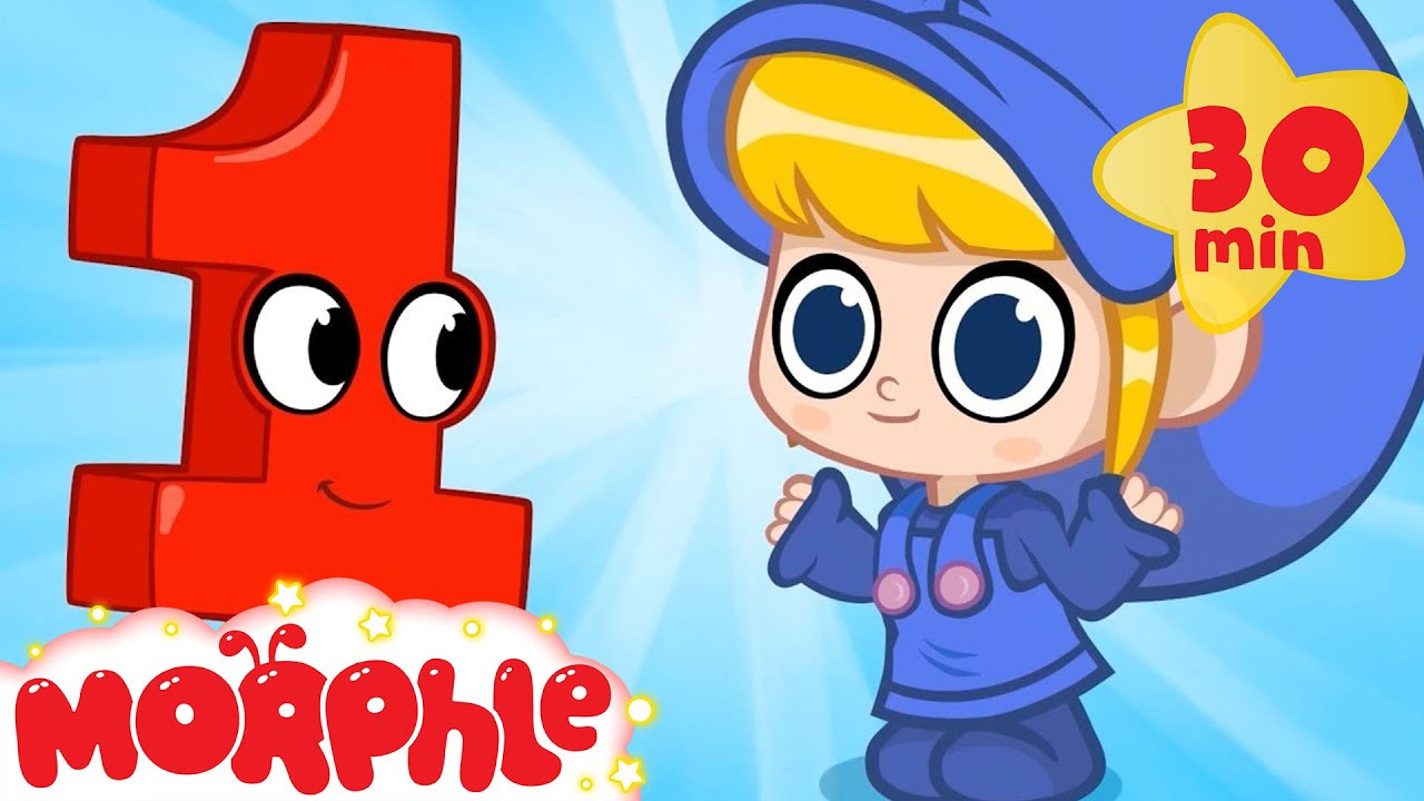 Magic Number Learning With Morphle - My Magic Pet Morphle | Cartoons For Kids | Morphle | Learning