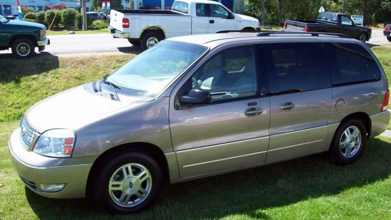 2005 ford freestar limited van youtube