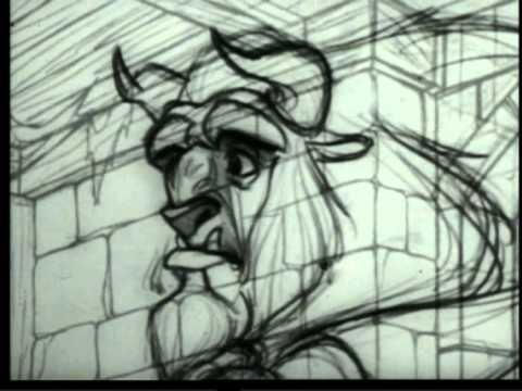 Как создавали мультфильм красавица и чудовище