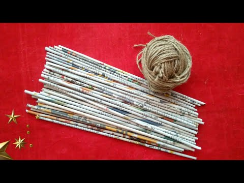 Best out of waste craft ideas | Newspaper craft ideas | best use of old newspaper | HMA##373