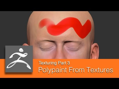 DART 153 Intro To ZBrush: Texturing Part 3 Polypainting From