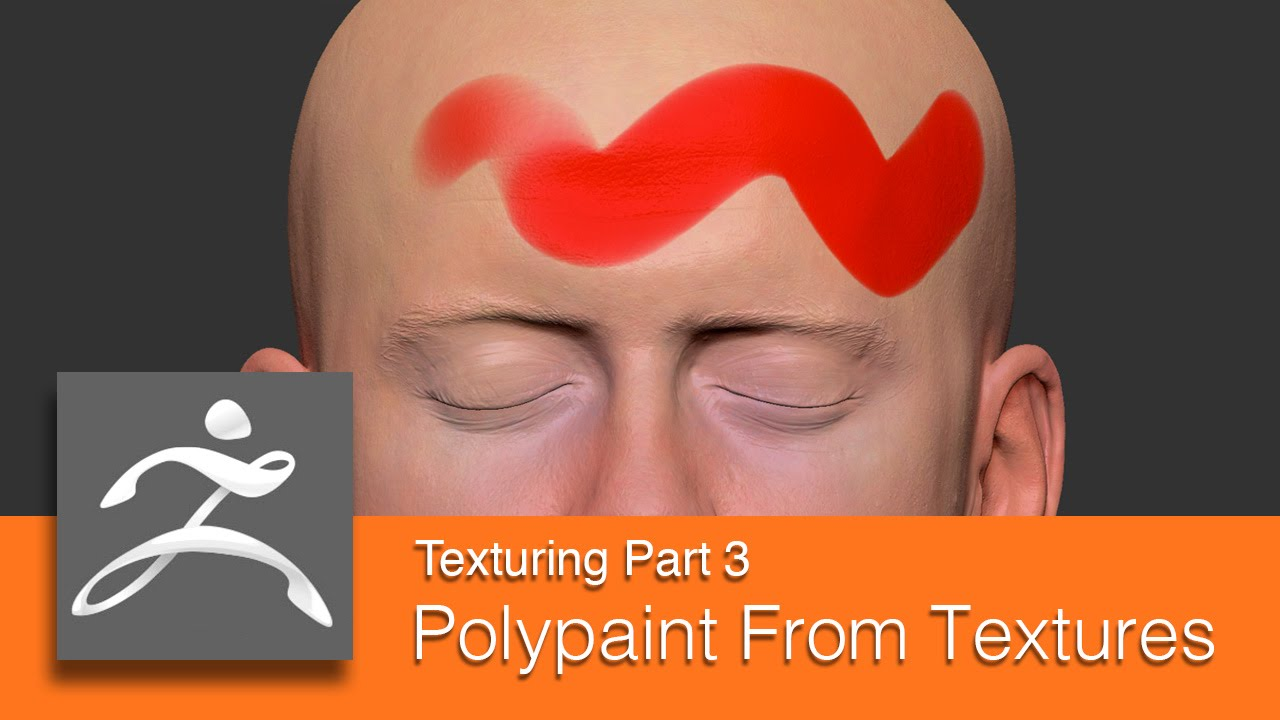 DART 153 Intro To ZBrush: Texturing Part 3 Polypainting From Texture Maps