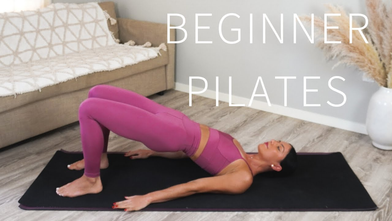 35 MIN FULL BODY PILATES WORKOUT FOR BEGINNERS || No Equipment
