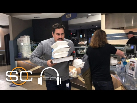 Barstool's Big Cat Makes His Long-Awaited Trip To ESPN's Cafeteria | SC With SVP