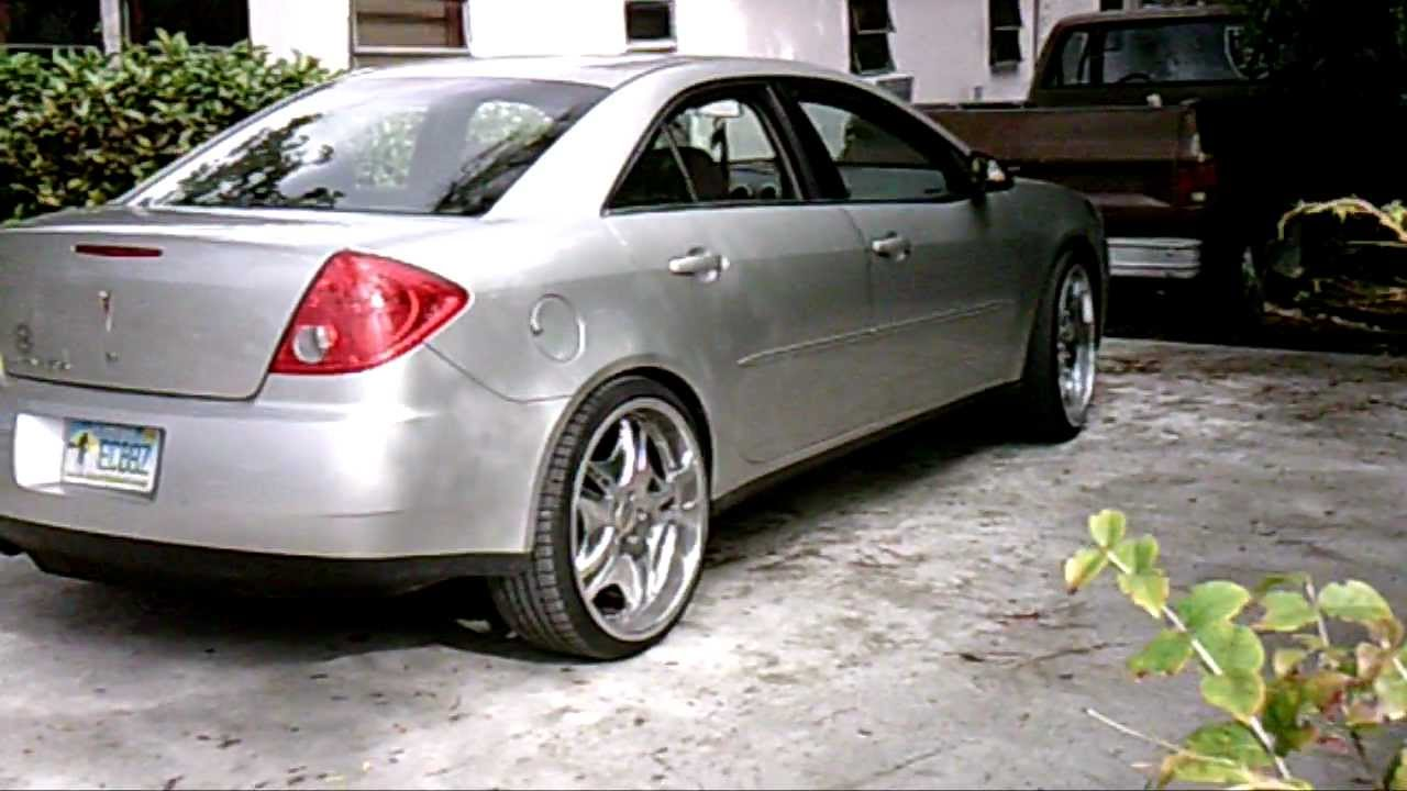 Piefacepresentwhips 07 Grey Pontiac G6 On 22 S Avi Youtube