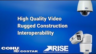 RISE rugged CCTV video surveillance cameras for transportation | CohuHD Costar