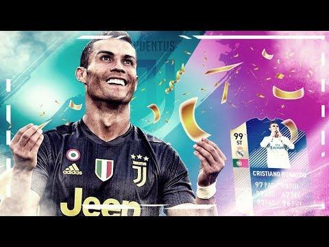 Cristiano Ronaldo TOTS!  ¿Mi mejor gol en FIFA 18?