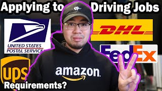 How To Get A J๐b As A Delivery Driver (FedEx, UPS, Amazon)
