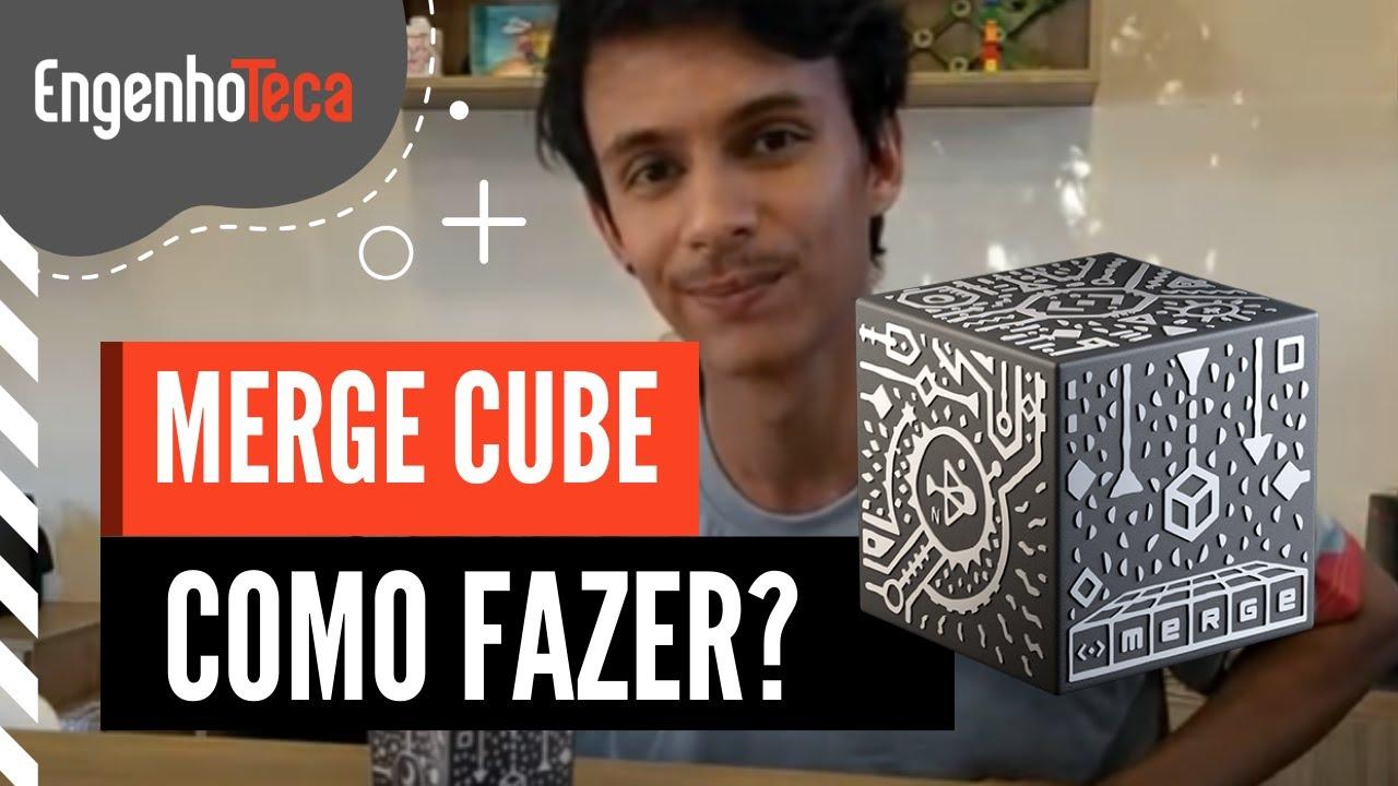 Vamos brincar de realidade aumentada? Faça seu Merge Cube e brinque com as crianças!