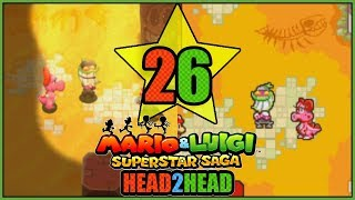 BIRDO & POPPLE! 3DS VS GBA Mario and Luigi Superstar Saga Head 2 Head Part 26 - DarkLightBros