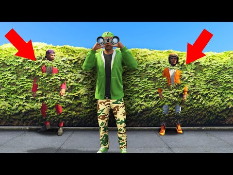 They Were RIGHT BEHIND ME This Whole Time! (GTA 5 Hide And Seek) thumbnail