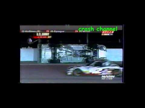 Nascar Truck Series Rick Crawford Crash Gateway 2004