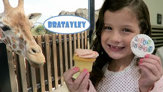 Hayley's Australian Birthday! | Feeding Giraffes and Koala Encounter  (WK 243.7) | Bratayley