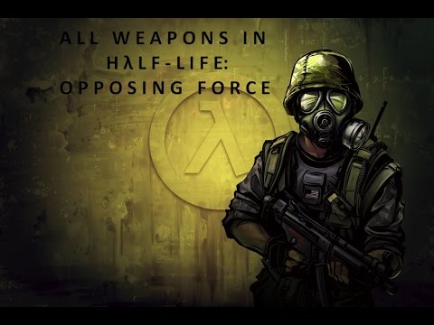 All weapons in