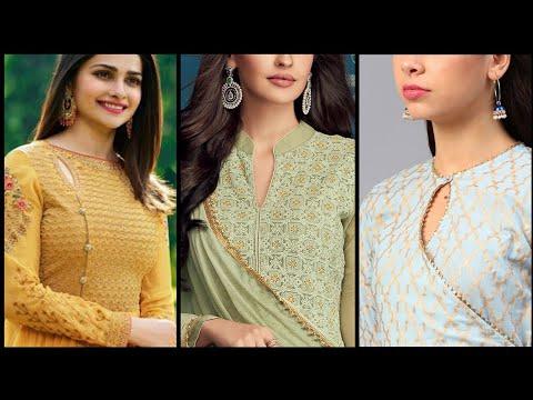 50+ Latest salwar kameez neck designs | Indian Pakistani suit neck designs | Neck pattern ideas 2020