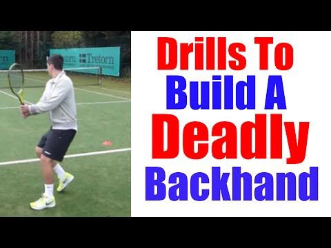 Tennis Backhand | 3 Drills To Move Like Djokovic On Your Backhand