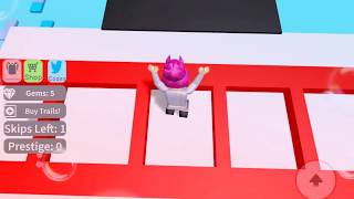 Roblox Obby! Remember to subscribe!😋