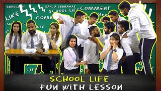 School Life | Fun With Lesson | Motivational Video | Sanju Sehrawat | Creators For Change