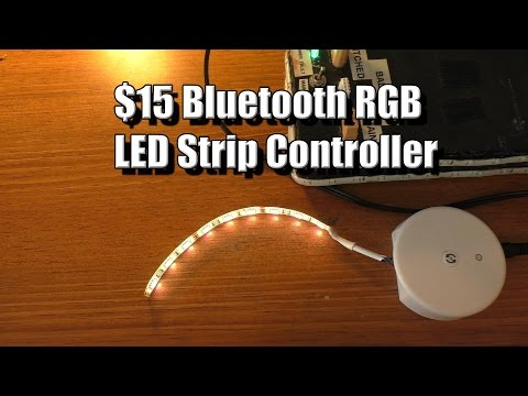 Bluetooth RGBW LED Controller