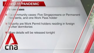 Singapore reports 219 new COVID-19 cases
