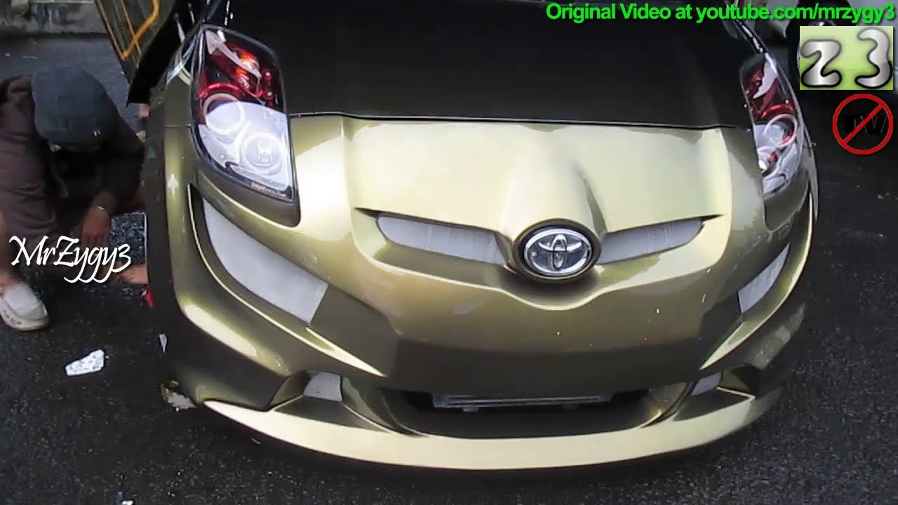 Auto Custom Modification Toyota Yaris Youtube