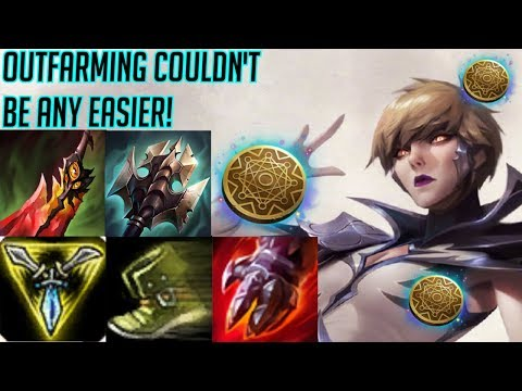 POWER-FARMING CAMILLE BECOMES A MID/LATE GAME GOD! - League Of Legends