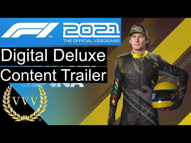 F1 2021 - Digital Deluxe Content Trailer and chat