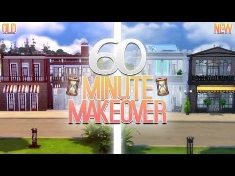 MOVERS & SHAKERS || The Sims 4: 60 Minute Makeover