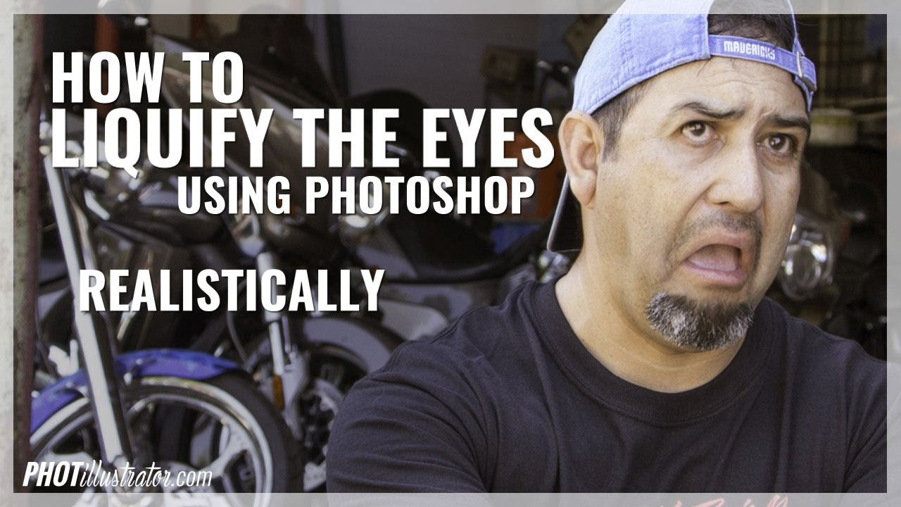 How to Liquify Eyes in Photoshop - Realistically |
