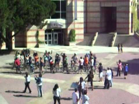 Dream Riders Arrive at UCLA from UC...