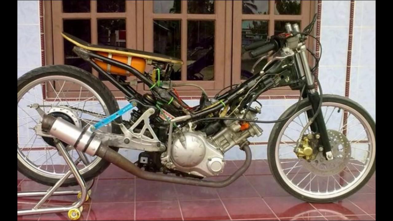 Koleksi Ide 91 Modifikasi Motor Drag Jupiter Mx Terkeren Bakiak