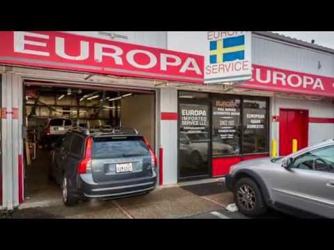 European Auto Repair in Bellevue ~ Europa Imported Service ~ Import and Domestic Auto Maintenance