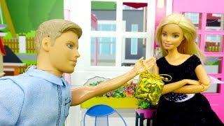 Барби. Шикарное платье для куклы своими руками