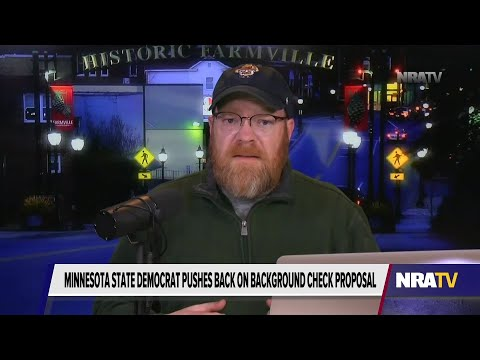 MN State Dem Comes Out Against Universal Background Checks