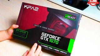 kFA2 GTX 1070 EX из ComputerUniverse Вторая Посылка! И мелочёвка на 20к