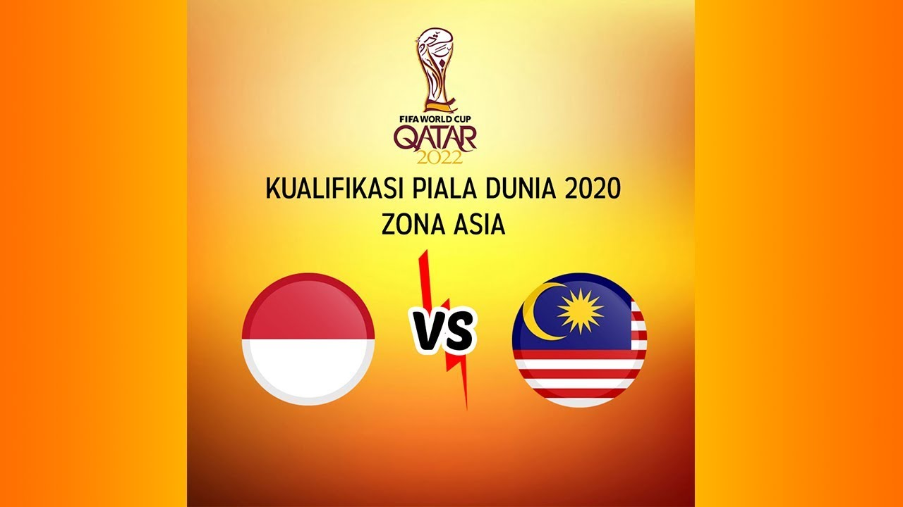 LIVE SCORE Indonesia Vs Malaysia Kualifikasi Piala Dunia